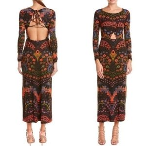 NEW..Free People Far Out Maxi Dress